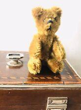 Alter Schuco Teddy Bär  Höhe stehend ca. 9 cm Kopf Drehbar