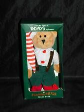 Boyds Christmas Elf Teddy Bear Heartfilled Hugs Stuffed Plush Bear NIB Holiday
