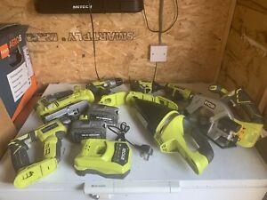 Ryobi +One 18v power tool set