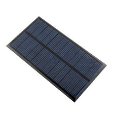 Mini 6V 1W Solar Power Panel Module DIY For Battery Cell Phone Chargers