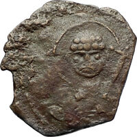 CRUSADERS of Antioch Tancred Ancient 1101AD Byzantine Time Coin St Peter i69514