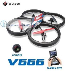 Drohne Vltoys 666 Mit Monitor 6 Asse E Kammer HD+ FPV 29072
