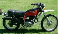 HONDA XL250 1976-1977 FULL PAINTWORK DECAL KIT