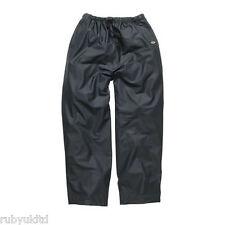 Dickies Raintite Pantalones Impermeable WP51000 Azul Marino Verde Hombre