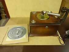 PHILIPS NG-84 NOSTALIE TRICHTERGRAMMPHON TURNTABLE / FOR PARTS / NOT COMPLETE