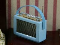 Dolls House Miniature 1/12th Scale Radio Various Colours Available - non working