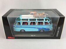 Schuco Setra S6 Blue Bus Coach Reisetraum Diecast Scale Model 1:43 Ltd Ed 1000