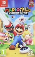 Mario & Rabbids Kingdom Battle Nintendo Switch Game Spiel 8 epischen Helden Neu