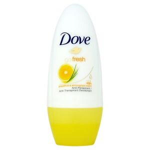 DOVE Go Fresh Grapefruit Lemongrass 48 hour roll on for Women 50ml