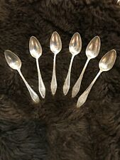 1912 ANTIQUE TOWLE MARY CHILTON STERLING SILVER DEMITASSE SPOONS-SET OF SIX!!