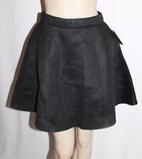 PAINT IT RED Designer Black Textured Mesh Else Skirt Size 6-XXS BNWT #SV37