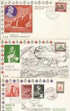 Pope Visits Middle East- 9 FDC's (1964)