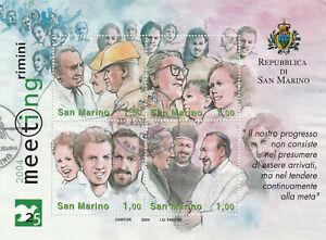 San Marino Block 35 gestempelt