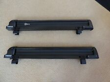 Thule Locking Ski Attachments for Gutter Rail Square Bar Roof Rack with Key