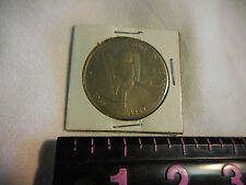 First men on the moon 5 dollars 1969-1989 commemorative coin marshall islands