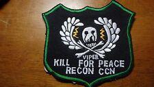 UNITED STATES ARMY VIPER RECON CCN VIETNAM WAR GREEN BERET   BX T #1245