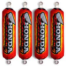 Red Shock Covers Honda Racing ATV TRX 700 TRX700 XX (For 4 shocks models) NEW