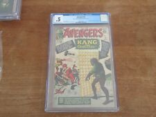 AVENGERS #8 MEGA KEY 1ST APPEARANCE OF KANG THE CONQUEROR CGC .5 LOOKS NICER