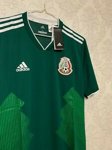 Mens Mexico World Cup 2018 Jersey NWT ADIDAS CLIMACHILL BQ4703 Size L NEW