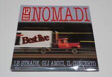DISCO 33 GIRI 4 LP NOMADI LE STRADE GLI AMICI IL CONCERTO LIVE NUOVO SIGILLATO