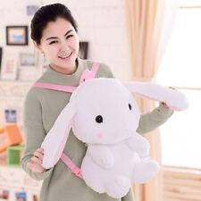 21inch School Backpack Japan Lolita Animal Rabbit Plush Bag Kids Birthday Gifts