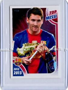"""RARE !! Sticker LIONEL MESSI """"BARCELONA 2012-13"""" Panini"""