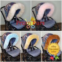 Baby Pram Furs Hood Trim Must Have Accessories To All Pushchair Stroller Prams