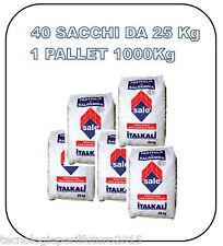 Sale in pastiglie per addolcitori e piscine sacchi da 25Kg 1 pallet 1000 kg