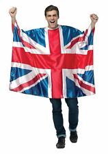 Rasta Imposta Great Britain UK Flag Tunic Pride  Costume	Adult One Size #R59