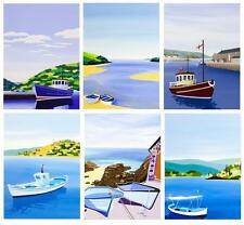 Pack Of 6 Innocent Art Blank Greeting Cards Cornish Artist Card Bundles