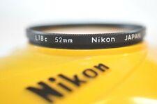 Nikon 52mm L1Bc Sky filter for Nikkor 28mm 2.8 D 55-200mm VR 50mm f/1.4 D 35mm 2