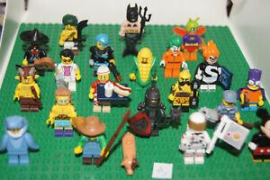 20 LEGO SERIES Minifigures / Minifigs mix BATMAN DISNEY 15 16 17 (Aj) GENUINE
