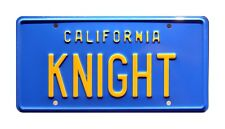 Knight Rider | '82 Trans Am | KITT | KNIGHT | STAMPED Replica Prop License Plate