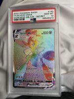 PSA 10 Pokemon 2020 Darkness Ablaze Full Art Secret Rare Scizor VMAX #193/189