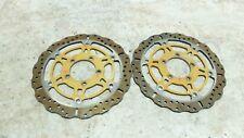 08 Kawasaki ZG 1400 ZG1400 B Concours front brake rotors disks