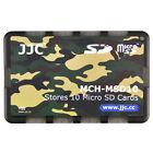 JJC 0.2  Ultra Slim Wallet Memory Card Holders fits 10 Micro SD Cards Camouflage
