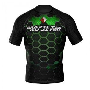 HighType Honey Badger Rash Guard BJJ MMA Fightwear