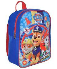 """Paw Patrol Backpack Boys 12"""" School Bag"""