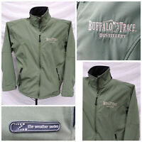 Buffalo Trace Distillery Full Zip ZORREL WEATHER Series Jacket Mens Small Nice