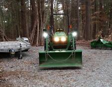 LED Flood Pattern Auxiliary Lights Kit for John Deere Tractor Mower Etc.