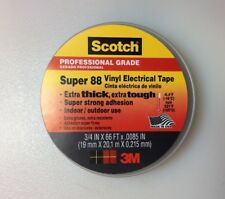 "3M 10307 Scotch 88 Electrical Tape, 3/4"" x 66' x .0085"""