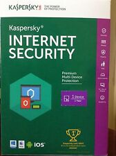 Kaspersky Internet Security for 1 device1 year Win Mac Android iOS ALL-in-One