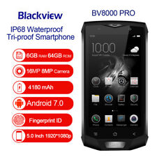 "Blackview BV8000 Pro Android 7.0 6GB+64GB IP68 5"" MTK6757 Octacore 4G Smartphone"