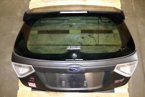JDM 2008-14 Subaru Impreza WRX STi GRB Hatch Tailgate Spoiler Wing Brake Lights