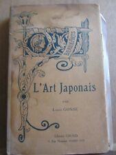 Louis Gonse: L'Art japonais/ Librairie Gründ, 1926