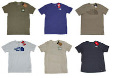 North Face Men's Slim Fit - Box Half Dome T-Shirt - Size M L XL 2XL - NWT