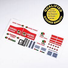 CUSTOM sticker for LEGO 5563 Racing Truck, Premium quality