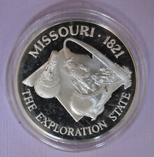 FRANKLIN MINT  STERLING SILVER STATE MISSOURI FREE SHIP