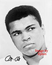 Muhammad Ali Signed preprint autograph 8x10 photo