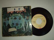 "Bart Peeters & De Radio's / I'm Into Folk  -Disco 45 Giri 7"" Stampa Belgio 1988"